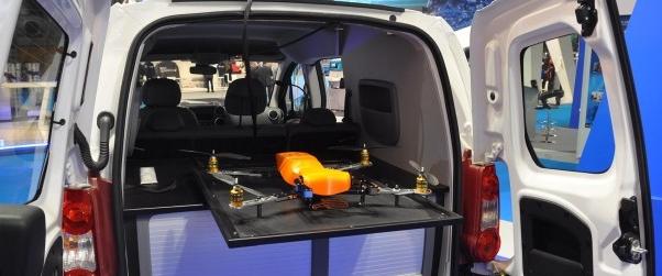 radar drone d'école