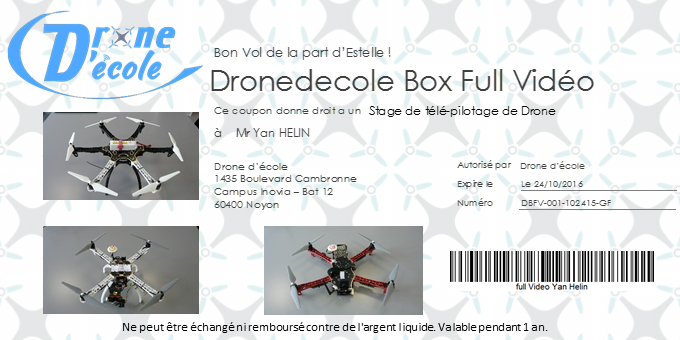 Cheque DroneBox 2016