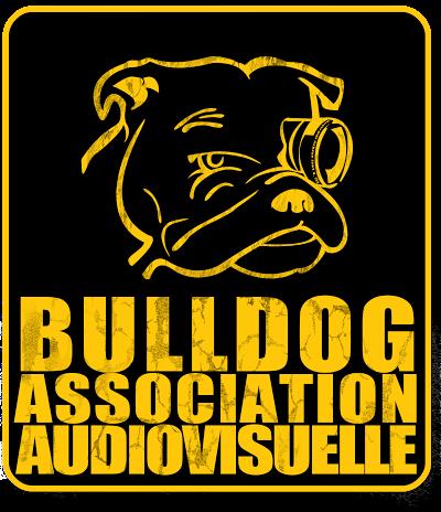 drone d ecole logo bulldog